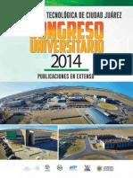 Congreso Universitario UTCJ 2014 - Publicaciones en Extenso