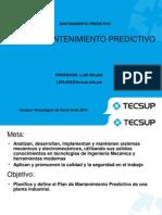 Plan de Mantenimiento Predictivo