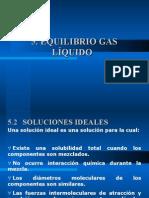 Equilibrio Gas Liquido