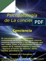 presentacion Psicopatologia de la  Conciencia Orientacion Atencion
