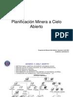 Catedra Introductoria Proyectos Mineria Cielo Abierto