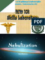 incubatory care and nebulization