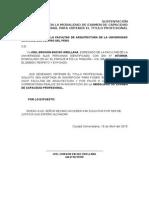 solictud 01 de entrega de terreno de una obra por administracion directa