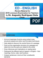 English Let Review 2015