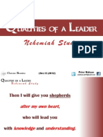 Qualities of a Leader