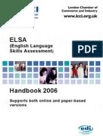 ELSA Online Handbook 2006