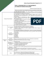 Lineamientos para la Organización y el Funcionamiento de Los Consejos Técnicos Escolares
