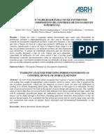 Análise de viabilidade para uso de pavimentos permeáveis como dispositivos de controle de escoamento superficial