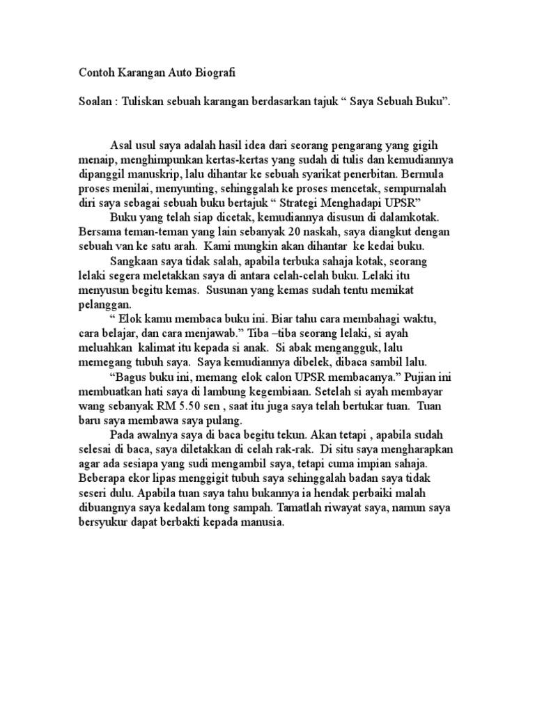 Contoh Karangan Biografi Tentang Ibu Sketsa