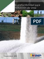 Estudio de Prefactibilidad Para La Producción de Urea
