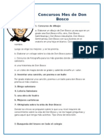 Concursos  Don Bosco