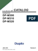 DP-M300 Series_Parts Manual
