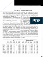 1950 Annual Weather Report for 1949