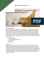 Direct Analysis Method Whitepaper