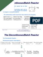 IV 4 Discontinuous Batch Chemical Reactors Polym