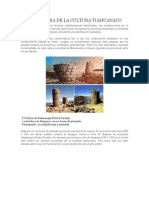 Arquitectura de La Cultura Tiahuanaco