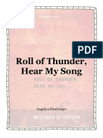 roll of thunder, hear my song