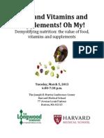 Harvard Medical School Nutrition