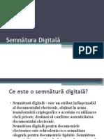 Semnătura Digitală