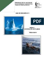 Estatica de fluidos