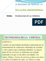 CERVEZA Diapositivas
