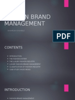 Fashion Brand Management