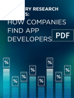 eBook - Industry Research Results How Companies Find App Developers