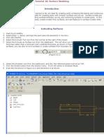 PRO-E Surface Modeling