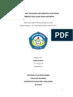 Paper - Implementasi, Manfaat, Dan Tantangan Electronic Commerce Pada Dunia Bisnis Indonesia