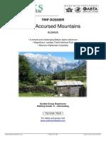 Walks Albania TALB the Accursed Mountains Trip Dossier