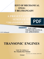 transonic engine