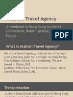 arabian travel agency