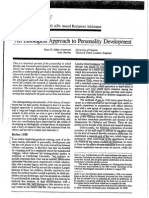Ainsworth M. - Bowlby J., An Ethological Approach to Personality Development