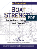 The Elements of Boat Strenght