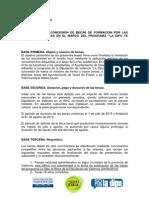 """""""La Dipu te Beca 2015"""" Bases del Ayto. de Quart de Poblet"""