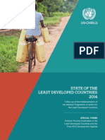 State of the Least Developed Countries Report 2014