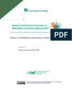 Características conductuales, sociales y emocionales TDAH