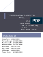 Teknik Radiografi Intra Oral-A1