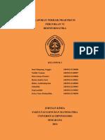 Percobaan Vi - Bioinformatikakelompok i (Revisi)