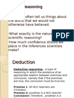 scientific reasoning.ppt