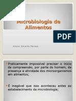 Microbiologia de Alimentos - Aula 1