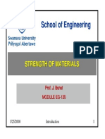 Intro to Strenght of Materials
