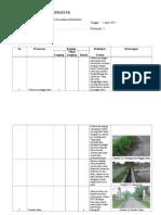 Formulir Survei Infrastruktur Transportasi