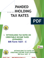 Withholding Tax Rates