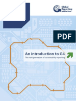 GRI an Introduction to G4
