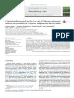 3-Hydroxyisoflavanones From the Stem Bark of Dalbergia Melanoxylon- Isolation, Antimycobacterial Evaluation and Molecular Docking Studies