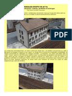 MODÉLISME FERROVIAIRE  à l'échelle HO (N°19) Un peu d'urbanisme