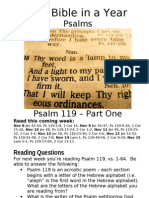 2 PS Psalm 119 Part 1