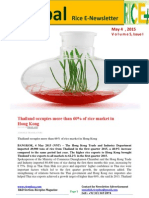 4th May,2015 Daily Global Rice E-Newsletter by Riceplus Magazine