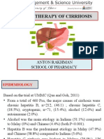 Pharmacotherapy of Cirrhosis
